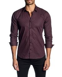 Jared Lang Regular Fit Paisley Sport Shirt