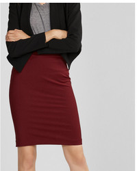 High waisted extreme stretch pencil skirt medium 5172568