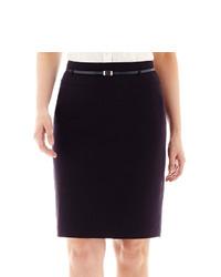 Liz Claiborne Pencil Skirt With Belt