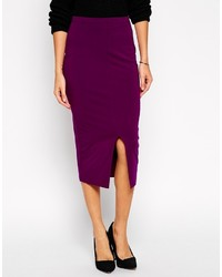 Asos Petite Midi Pencil Skirt With Split Front | Where to buy ...