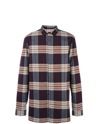 Helmut Lang Plaid Shirt