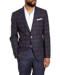 BOSS Fit Plaid Wool Sport Coat