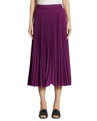 Marc Jacobs Long Pleated Skirt