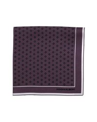 hook + ALBERT Diamond Medallion Silk Pocket Square