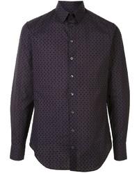 Giorgio Armani Polka Dot Patterned Shirt