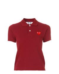 Comme des garons play logo polo shirt medium 7651159