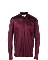 Canali Zipped Polo Shirt