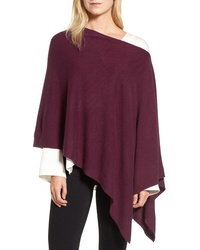 Halogen Convertible Cashmere Poncho