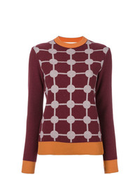 Marni Grid Intarsia Sweater