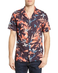 Devereux Playa Stripe Oversize Camp Shirt