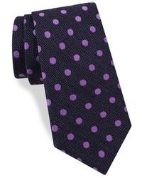 Ted Baker London Dot Print Silk Tie