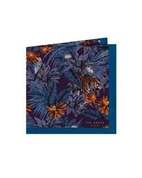 Ted Baker London Jungle Print Wool Pocket Square