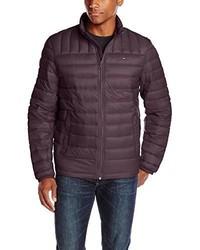 Dark Purple Puffer Jacket