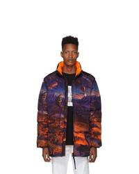 Marcelo Burlon County of Milan Multicol Fantasy Jacket