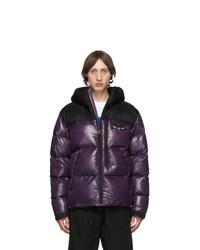 Marcelo Burlon County of Milan Purple Down Jacket
