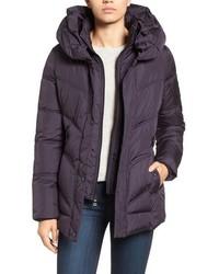 Pillow collar quilted coat medium 785195