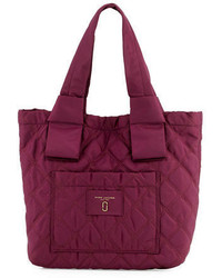 Marc Jacobs Small Quilted Nylon Knot Tote Bag