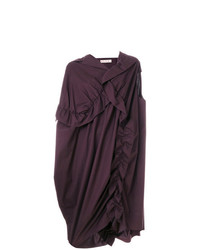 Marni Draped Asymmetric Dress