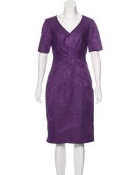 Brocade sheath dress medium 6704743
