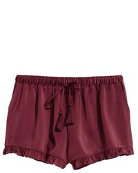 H&M Satin Shorts