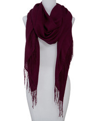 Dark Purple Scarf