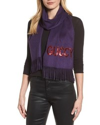 Gucci Guccy Sequin Scarf
