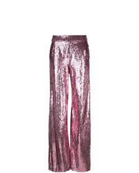 Prabal Gurung Sequin Wide Leg Trousers