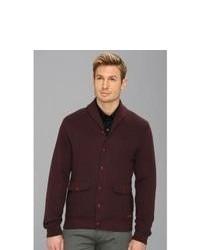Dark Purple Shawl Cardigans for Men | Men's Fashion