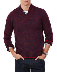 Nautica Shawl Collar Sweater