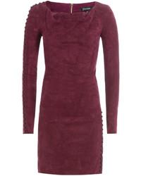 Dark purple sheath dress original 9823192