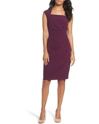 Crepe sheath dress medium 4950614