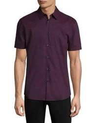 John Varvatos Star Usa Short Sleeve Cotton Shirt