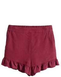 H&M Ruffle Trimmed Shorts