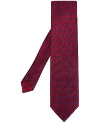 Brioni Square Pattern Tie