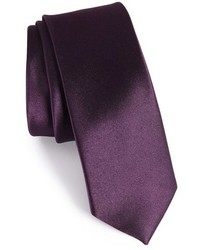 The Tie Bar Solid Silk Skinny Tie