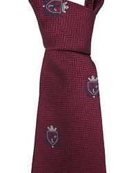 Dark Purple Silk Tie