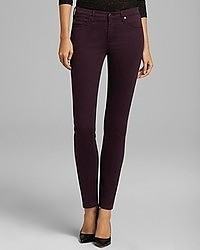 Dark Purple Skinny Jeans