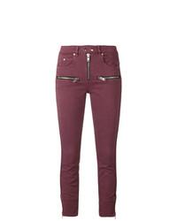 Isabel Marant Etoile Isabel Marant Toile Peloni Zipped Jeans