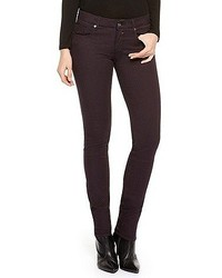 Lunja stretch cotton jeans dark purple medium 49573