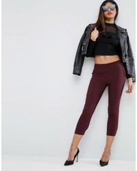 Asos High Waisted Skinny Crop Pants