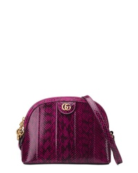 Gucci Small Ophidia Genuine Snakeskin Shoulder Bag