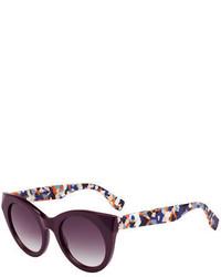 Fendi Chromia Square Universal Fit Sunglasses
