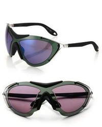 Givenchy 99mm Metal Shield Sport Sunglasses