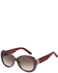 Marc Jacobs Gradient Acetate Butterfly Sunglasses