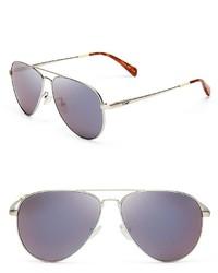 Toms Mirrored Maverick Sunglasses 52mm
