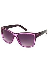 TH Purple Frame Wayfarer Style Retro Fashion Sunglasses Wi Two Tone Frames