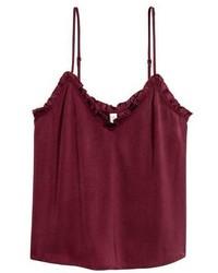 H&M Satin Camisole Top