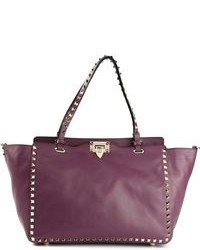 Dark Purple Tote Bag