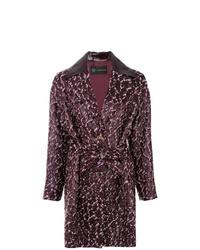 Versace Textured Trench Coat