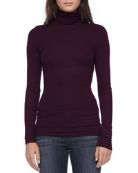 Dark Purple Turtleneck